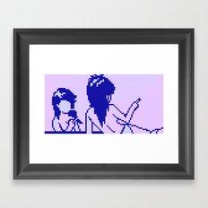 Cold Spectral Babes Framed Art Print