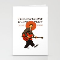 marty mcfly Stationery Cards featuring Marty Mcfly by IF ONLY