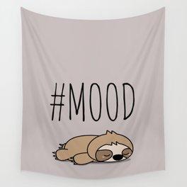 #MOOD - Sleepy Sloth Wall Tapestry