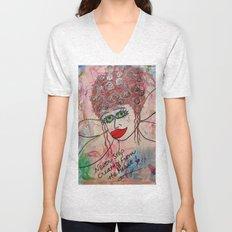 Fairy Art Mother Unisex V-Neck