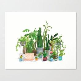 Plant Family Portrait Canvas Print