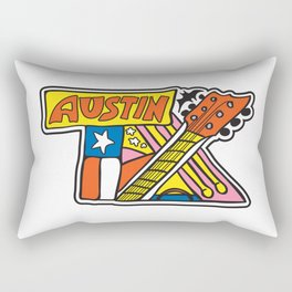 Austin TX Rectangular Pillow