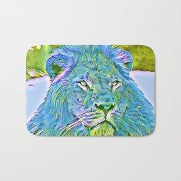 Funky lion Bath Mat