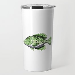 Have A Crappie Day Funny Crappies Fishing Quote Gift Travel Mug