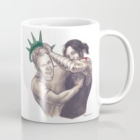 the national Mugs featuring national treasures by moonriot