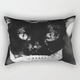 SKULL CAT Rectangular Pillow