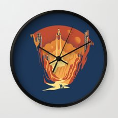 New World Wall Clock