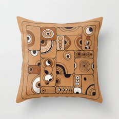 The Tile Throw Pillow