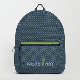 What do I know? Backpack