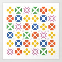 matisse Art Prints featuring 13. Matisse by Chris Day