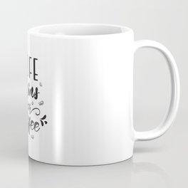 Coffee lettering Coffee Mug