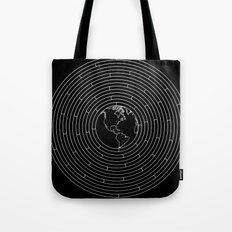 I Dream To Explore The World (Black) Tote Bag