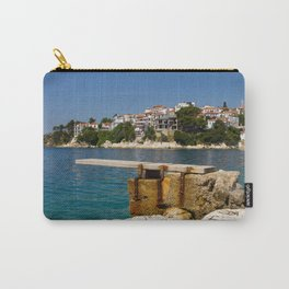 A diving board in Skiathos town (Greece) Carry-All Pouch