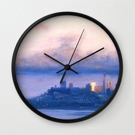 """Under the Fog"" Wall Clock"