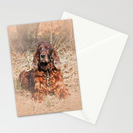 Red setter Stationery Cards