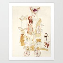 Harmonie-Transport Art Print