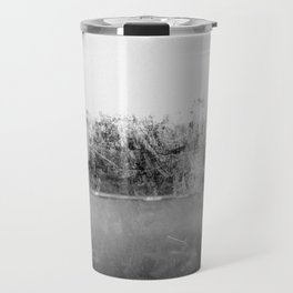 A través del cristal (black and white version) Travel Mug