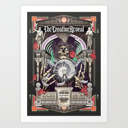 CreativeReveal - The Brand Guru (Variant Ver.) Art Print