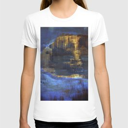 Cave 03 / The Interior Lake / wonderful world 10-11-16 T-shirt