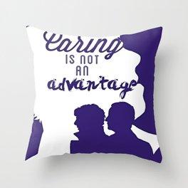 Not an Advantage  Throw Pillow
