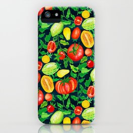 Home Grown Tomatoes  iPhone Case