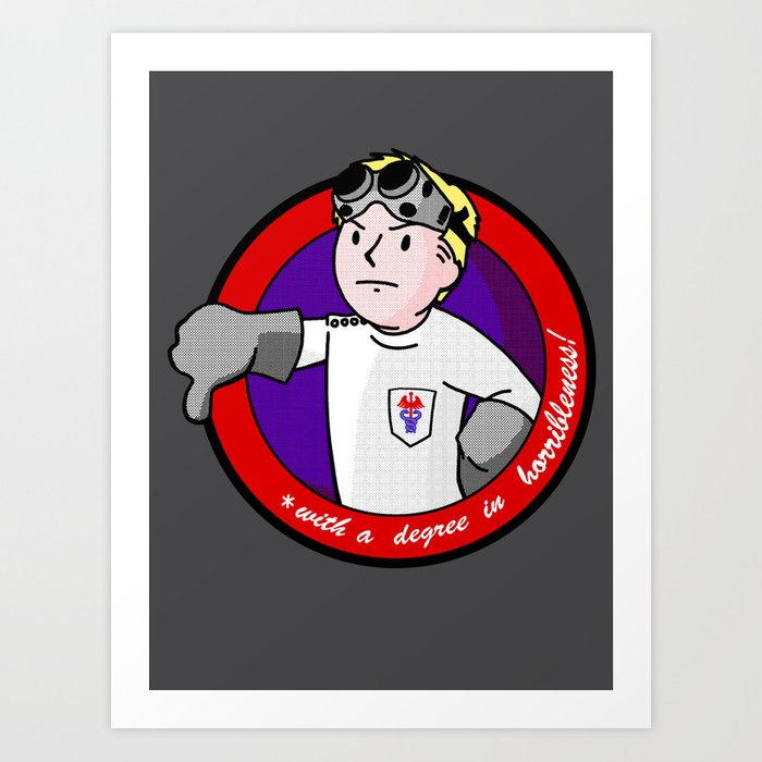 Vault Boy MD Art Print