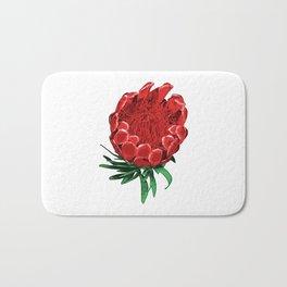 Beautiful Protea Flower - Wonderful Australian Native Flower Bath Mat