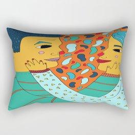 The Story of Us Rectangular Pillow