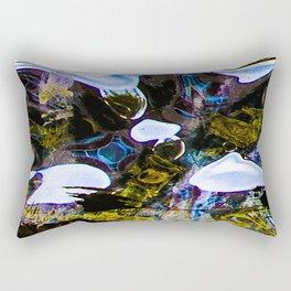 My Heart Sinks at the Bottom of a Fish Tank Rectangular Pillow