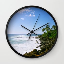 Ohau, Hawaii (2) Wall Clock
