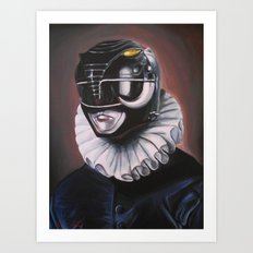 Portrait Of A Black Ranger Art Print