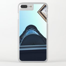 On perspective Clear iPhone Case