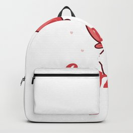 Funny Gamers Valantines Day Backpack