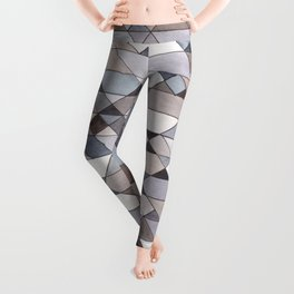 Triangle Pattern no.22 grays Leggings