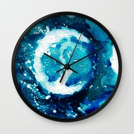 2017 Eclipse Wall Clock