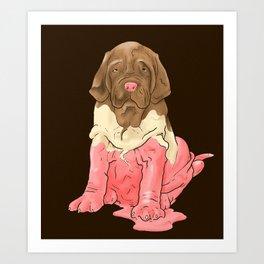 Neapolitan Mastiff Art Print