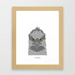 Buckbeak Framed Art Print