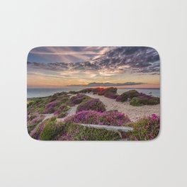 Headon Hill Sunset Isle Of Wight Bath Mat