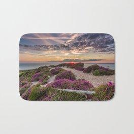 Headon Hill Sunset Isle Of Wight Bath Mat