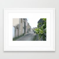 plant Framed Art Prints featuring Plant by thoregan