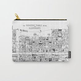 Periodic Table of the Elephants Carry-All Pouch
