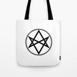 Men of Letters Symbol Black Tote Bag