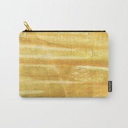 Sandy brown hand-drawn aquarelle Carry-All Pouch