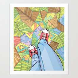 Converse Dream Art Print