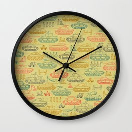 Tanks For Everything Wall Clock