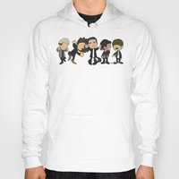 1d Hoodies featuring Schulz Dancing 1D by Ashley R. Guillory