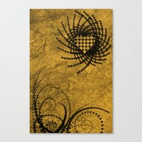 macaroons Canvas Prints featuring Macaroons by mattmangrease