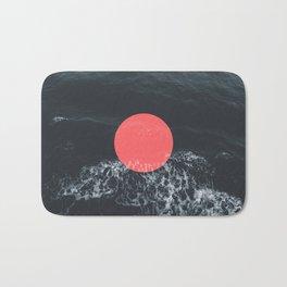 Ocean Circle Bath Mat