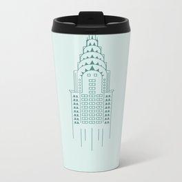 New York City Collection Metal Travel Mug