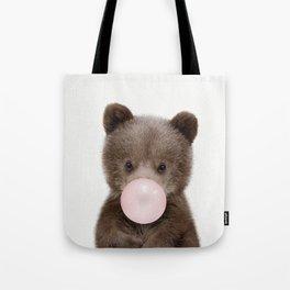 Bubble Gum Bear Cub Tote Bag